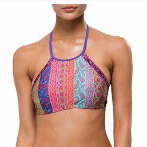 TIGERLILY Multi Ramo Apron Bikini Top BNWT